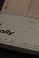 ally personal check