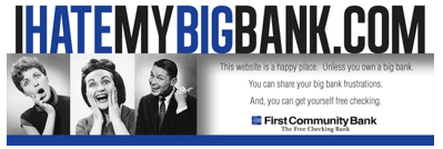 First Community Bank Takes On Big Banks