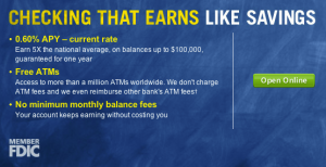 capital one interest online checking account
