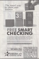 free smart checking newspaper ad
