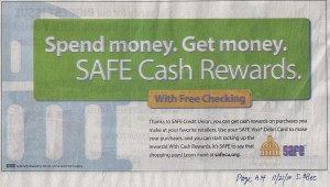 Safe Cash Rewards With Free Checking
